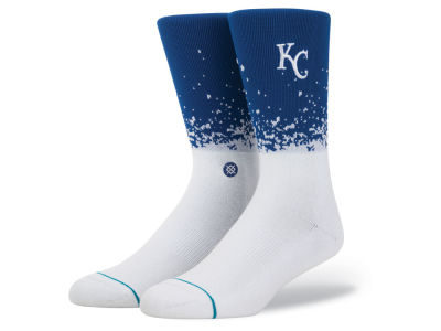 Kansas City Royals Stance MLB Fade Crew Socks