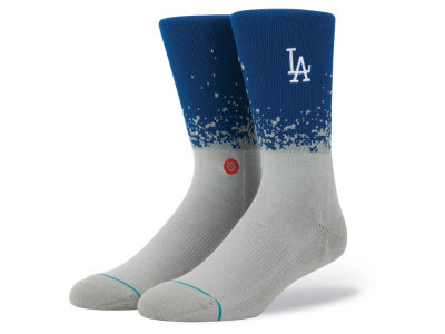 Los Angeles Dodgers Stance MLB Fade Crew Socks