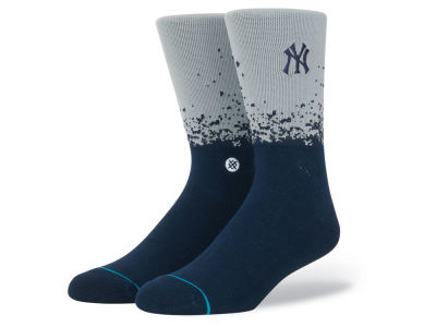 New York Yankees Stance MLB Fade Crew Socks