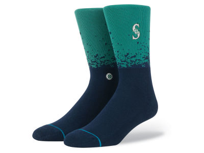 Seattle Mariners Stance MLB Fade Crew Socks
