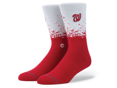 Washington Nationals Stance MLB Fade Crew Socks