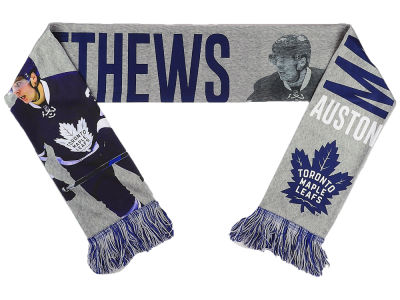 Toronto Maple Leafs Auston Matthews Player Printed Scarf