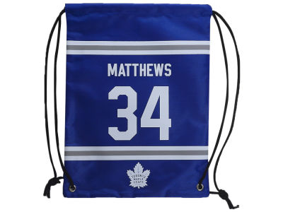 Toronto Maple Leafs Auston Matthews Player Drawstring Bag