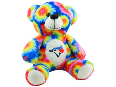 Toronto Blue Jays Tie Dye Plush Bear - 8""