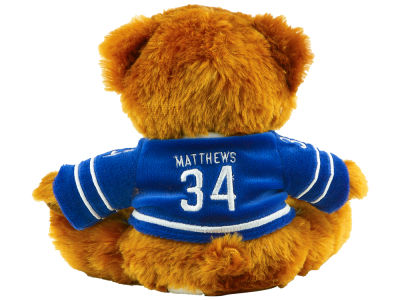 Toronto Maple Leafs Auston Matthews Player Jersey Bear - 7.5""