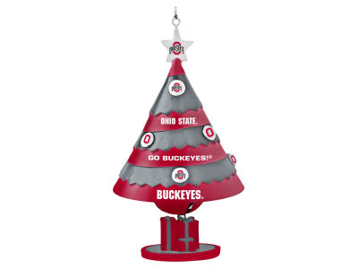 Ohio State Buckeyes Tree Shaped Bell Ornament