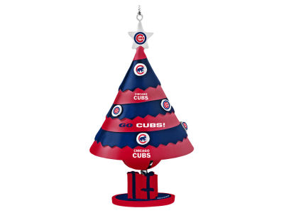 Chicago Cubs Tree Shaped Bell Ornament