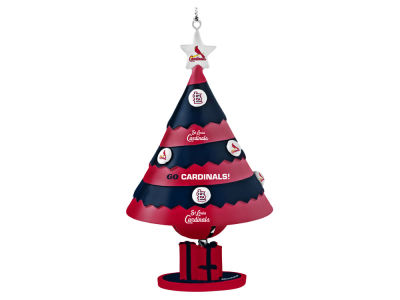 St. Louis Cardinals Tree Shaped Bell Ornament