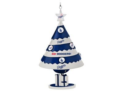 Los Angeles Dodgers Tree Shaped Bell Ornament