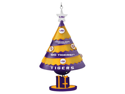 LSU Tigers Tree Shaped Bell Ornament
