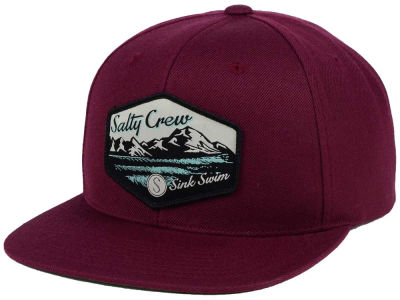 Salty Crew Lined Up Snapback Cap