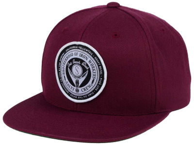 Salty Crew Iron Workers Snapback Cap