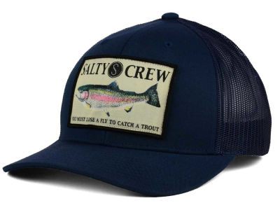 Salty Crew Rainbow Retro Trucker Hat