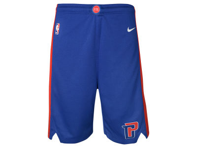 Detroit Pistons Nike NBA Youth Icon Swingman Short