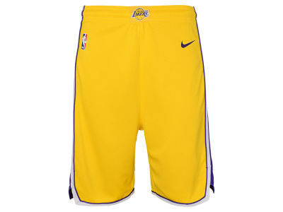 Los Angeles Lakers Nike NBA Youth Icon Swingman Short