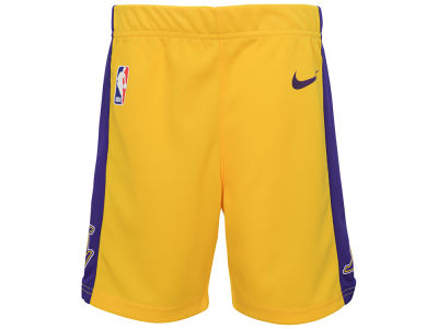 Los Angeles Lakers Nike NBA Kids Icon Replica Short