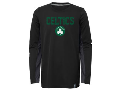 Boston Celtics Outerstuff NBA Kids Assist Long Sleeve Shooter T-Shirt