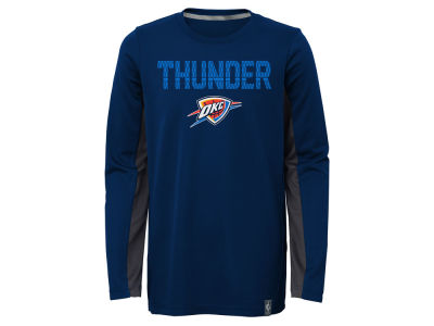 Oklahoma City Thunder Outerstuff NBA Kids Assist Long Sleeve Shooter T-Shirt