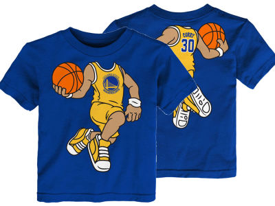 Golden State Warriors Stephen Curry Outerstuff NBA Toddler Dunkin T-Shirt
