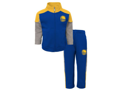Golden State Warriors Outerstuff NBA Toddler One on One Pant Set