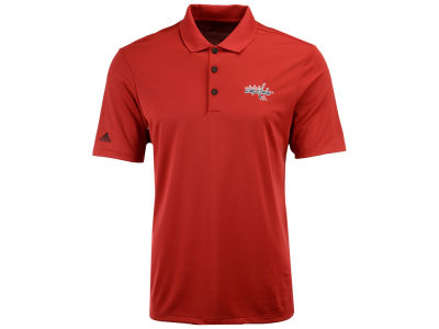 Washington Capitals adidas NHL Men's Power Play Primary Polo
