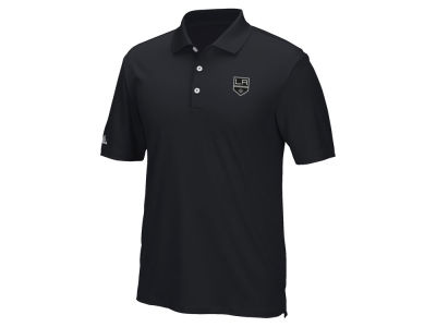 Los Angeles Kings adidas NHL Men's Power Play Primary Polo