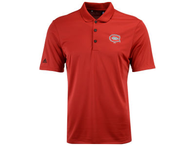 Montreal Canadiens adidas NHL Men's Power Play Primary Polo
