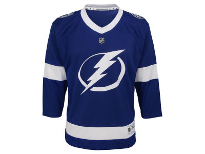 Tampa Bay Lightning NHL Branded NHL Youth Blank Replica Jersey