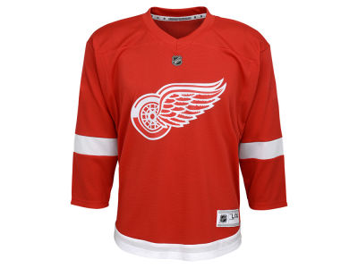 Detroit Red Wings adidas NHL Youth Blank Replica Jersey