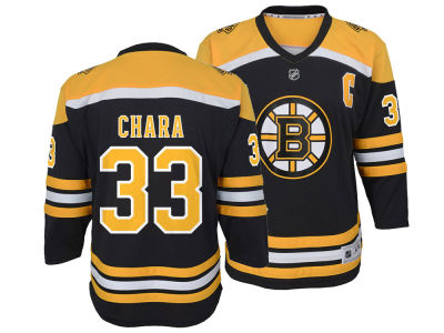Boston Bruins Zdeno Chara NHL Branded NHL Youth Player Replica Jersey