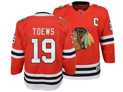 Chicago Blackhawks Jonathan Toews NHL Branded NHL Youth Premier Player Jersey