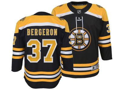 Boston Bruins Patrice Bergeron NHL Branded NHL Youth Premier Player Jersey