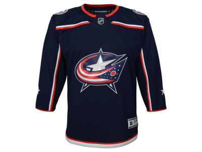 Columbus Blue Jackets NHL Branded NHL Youth Premier Blank Jersey