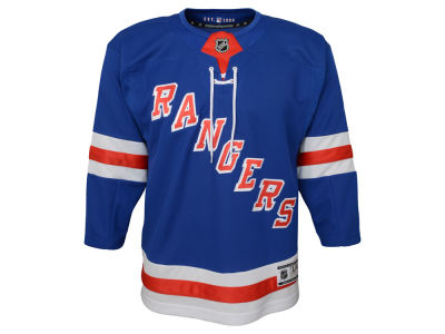 New York Rangers NHL Branded NHL Youth Premier Blank Jersey