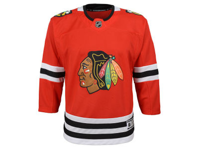 Chicago Blackhawks NHL Branded NHL Youth Premier Blank Jersey