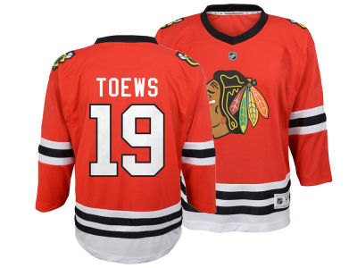 Chicago Blackhawks Jonathan Toews NHL Branded NHL Kids Player Replica Jersey