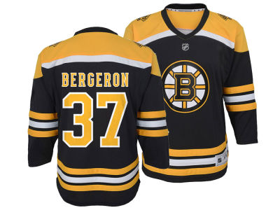 Boston Bruins Patrice Bergeron NHL Branded NHL Kids Player Replica Jersey
