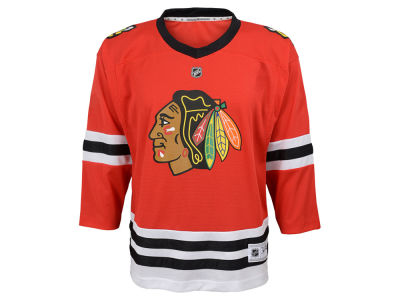 Chicago Blackhawks NHL Branded NHL Kids Blank Replica Jersey
