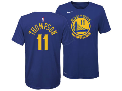 Golden State Warriors Klay Thompson Nike NBA Youth Icon Name and Number T-Shirt