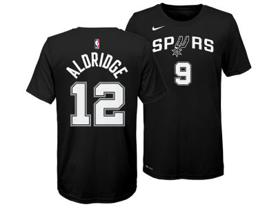 San Antonio Spurs Lamarcus Aldridge Nike NBA Youth Icon Name and Number T-Shirt