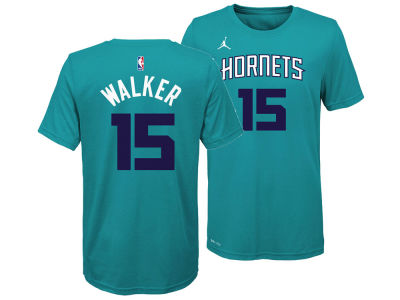 Charlotte Hornets Kemba Walker Nike NBA Youth Icon Name and Number T-Shirt
