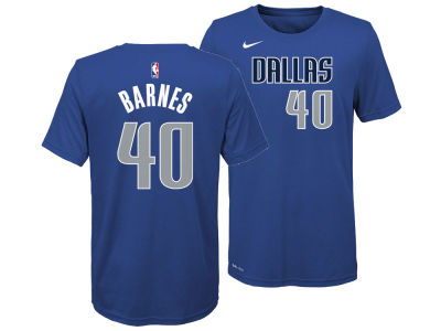 Dallas Mavericks Harrison Barnes Nike NBA Youth Icon Name and Number T-Shirt