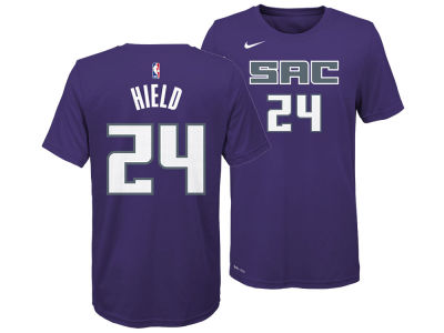Sacramento Kings Buddy Hield Nike NBA Youth Icon Name and Number T-Shirt