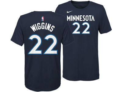 Minnesota Timberwolves Andrew Wiggins Nike NBA Youth Icon Name and Number T-Shirt