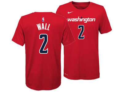 Washington Wizards John Wall Nike NBA Youth Icon Name and Number T-Shirt