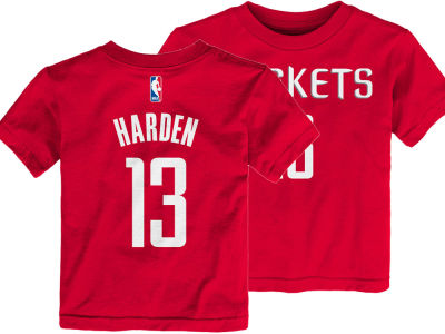 Houston Rockets James Harden Nike NBA Toddler Replica Name and Number T-Shirt