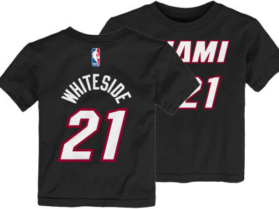Miami Heat Hassan Whiteside Nike NBA Toddler Replica Name and Number T-Shirt