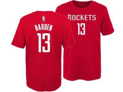 Houston Rockets James Harden Nike NBA Kids Replica Name and Number T-Shirt