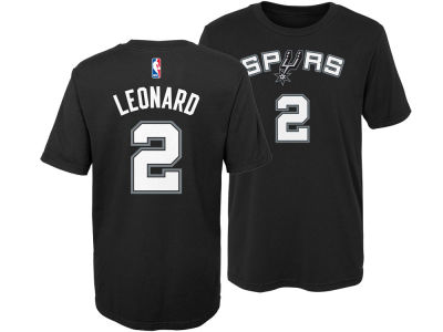 San Antonio Spurs Kawhi Leonard Nike NBA Kids Replica Name and Number T-Shirt