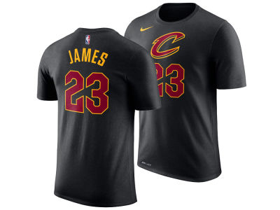 Cleveland Cavaliers LeBron James Nike NBA Youth Statement Name and Number T-shirt